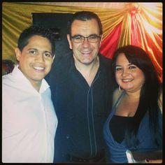 Con Laureano luego de su espectáculo en #LaVictoria #VictoriaFM #17ANIVERSARIO #radio #InstaRadio