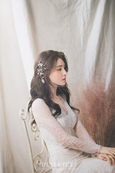 PV studio 2019 New sample - WEDDING PACKAGE - Mr. K Korea pre wedding - Everyday something new and special Korea pre wedding by Mr. K Korea Wedding Wedding Hair Colors, Wedding Hair And Makeup, Bridal Hair, Beautiful Wedding Gowns, Beautiful Bride, Wedding Prep, Wedding Bride, Korean Wedding Hair, Korean Bride