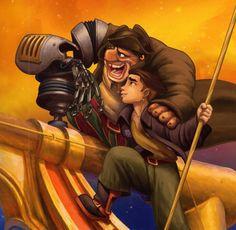 Treasure Planet my 1st cartoon crush