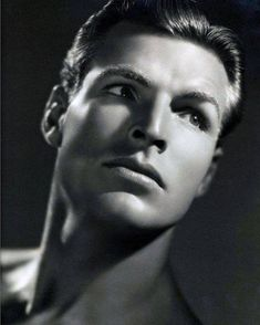 "bowlersandhighcollars: "" wehadfacesthen: "" Buster Crabbe, who starred in movie serials as Flash Gordon, Buck Rogers and Tarzan in a 1934 photo by George Hurrell "" Ooh, I'm glad to see a larger version of this portrait. He was a dream. Hollywood Men, Hollywood Icons, Golden Age Of Hollywood, Vintage Hollywood, Hollywood Stars, Classic Hollywood, Old Hollywood Actresses, George Hurrell, Flash Gordon"