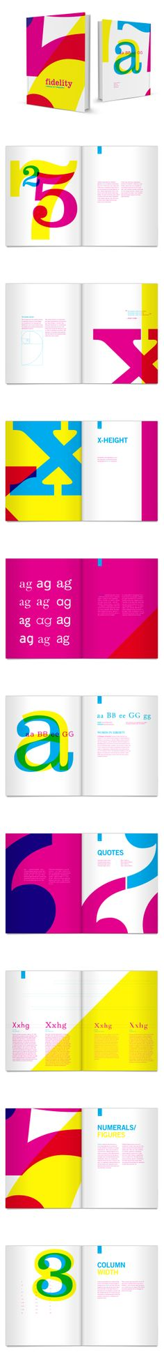 """Typographic Manual by Dustin Johnson"""
