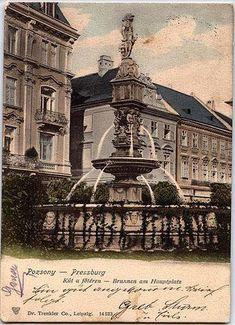 Stará Bratislava Bratislava, Homeland, Hungary, Nostalgia, Country, Buildings, Times, Illustration, City