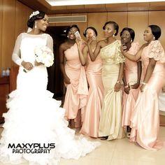 Bridesmaids Dresses: Ravishing, Stylish And Fab - Wedding Digest Naija Beautiful Bridesmaid Dresses, Wedding Dresses, Color Shades, Dress For You, Wedding Day, Wedding Inspiration, Glamour, Bridal, Stylish