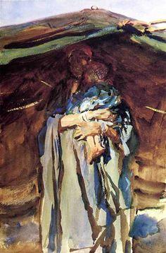John Singer Sargent - Bedouin Mother