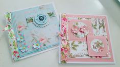 Using the Rose Garden paper pad from @CreateCraftTV.  Paper Boutique Paper Pad.