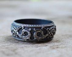 Norse Ringerike Dragon Viking Ring Scandinavian Norse Jewelry