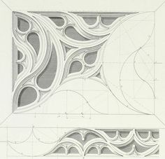 Valuable metalworking ideas New & Improved Architecture Concept Drawings, Gothic Architecture, Geometric Drawing, Geometric Art, Islamic Art Pattern, Pattern Art, Ornament Drawing, Construction Drawings, Fantasy Art