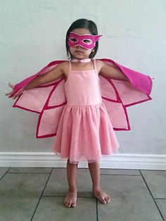 PJ Masks Owlette Costume- Mask and/or Wings, Sizes XS through XL and Adult Size