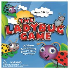 Help these adorable lady bugs make it home with The Ladybug Game. Be the first ladybug to make it home while avoiding various hazards including the praying mantis, the aphids, three lazy ants, and tall grass, in this colorfully illustrated game. Board Games For Boys, Games For Kids, Games To Play, Kids Board, Children Games, Mini Games, Learning Games, Kids Fun, Big Kids