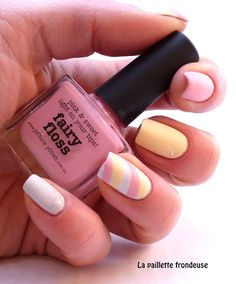 #picturepolish #fairyfloss #mellowyellow #marshmallow #nailart #nail #nails