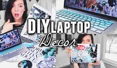 Hey guys! Today I show you some super fun, easy, and cheap ways to decorate your laptop! I love this so much because I really enjoy customizing and I think i...