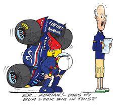 formula one cartoon images | Continental Circus: Formula 1 em Cartoons: Daniel Ricciardo na Red ...