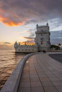 """Torre de Belém"" - Perhaps Lisbon's most iconic monument"