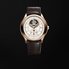 Rose Gold Moon Phase Tourbillon Watch G0A37114 - Piaget Luxury Watch Online