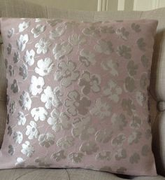 2 Laura Ashley Tatton Lin Jacquard Housse de Coussin 16/""