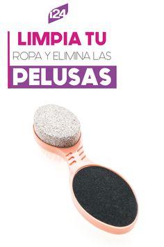 ¿Sabías que con una piedra pómez puedes eliminar las pelusas de la ropa? #Tips #Curiosidades