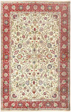 Vintage Tabriz Persian Carpet 50224
