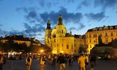 Prague by nightfall  #czechitout