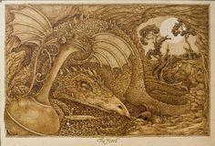 pyrography art - Google Search