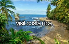 Return to Costa Rica to visit and participate in volunteer work with my family