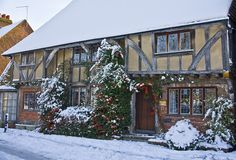 A stunning Yeomans cottage taken in East Malling, Kent during winter A picture of East Malling - in the county of Kent