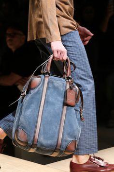 See detail photos for Salvatore Ferragamo Spring 2015 Menswear collection. Fashion Bags, Mens Fashion, London Fashion, Vogue, Denim Bag, Luxury Bags, Salvatore Ferragamo, Bag Accessories, Clothing Accessories