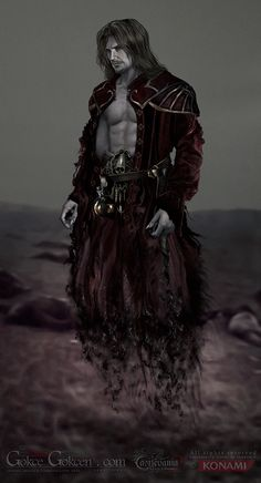 Male Vampire Concept | Dracul : Castlevania - Lords of Shadow by gokcegokcen