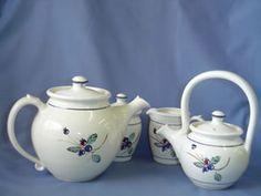 Saskatoon berry pottery Prairie Pottery Ron & Rusty Kurenda
