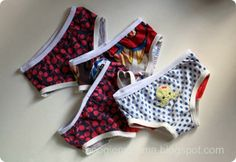 Free kids underwear pattern