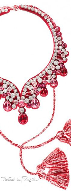 Regilla ⚜ Una Fiorentina in California Rosy Pink, Red And Pink, Pretty In Pink, Red And White, Ps I Love, Valentine Special, Red Jewelry, Bold Prints, Red Wedding
