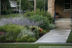 Front yard on pinterest white gardens split level remodel and home