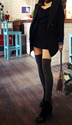 Spring and autumn flat step on the foot ankle sock tall boot socks over-the-knee kneepad female long socks thin US $10.30