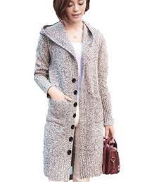 Cardigan Sweaters For Women, Long Sweaters, Long Cardigan, Cardigans For Women, Long Sleeve Sweater, Sweater Cardigan, Woolen Clothes, Roll Neck Sweater, Sweater Making