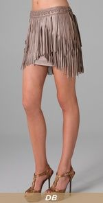 I have no idea what's going on, I normally hate fringed clothing but this I would rock.  Maybe because it would look great on the dance floor.  Matthew Williamson