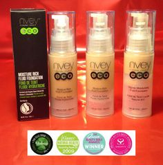 Moisture Rich Fluid Foundation by Nvey Eco.