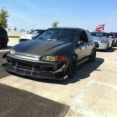 Andrew Fryer's Honda Civic EG hatch looking track ready - owner is - side note: the car was rear ended and totaled back in RIP little Civic. Tuner Cars, Jdm Cars, Corsa Wind, Civic Eg, Honda Civic Hatchback, Honda Cars, Street Racing, Rear Ended, Cheap Cars