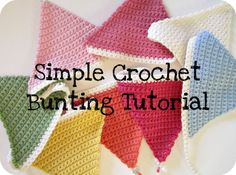 Since showing you my crochet bunting, I've had a couple of requests for the pattern.  It really is the perfect project for someone who has ...