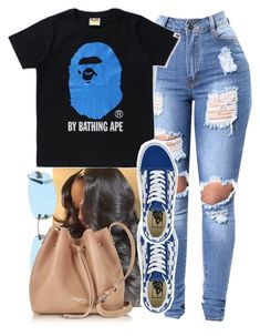 """""""wayy to much cloutyyyyy """" by lanadabest ❤ liked on Polyvore featuring Vans, Chanel and Lancaster"""