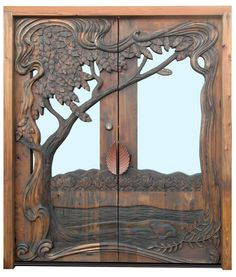 771 Best Carved Wood Doors Images Entry Doors Cool