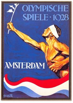 Relive the moments that went down in history from the amsterdam 1928 summer olympics. access official videos, results, sport and athlete records. Vintage Travel Posters, Vintage Ads, Amsterdam, Summer Logo, Olympic Flame, Chamonix Mont Blanc, Art Deco Paintings, St Moritz, Games Images