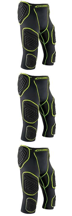 Protective Gear 21224: Champro Bull-Rush 7-Pad Integrated Football Girdle Youth And Adult Padded Shorts -> BUY IT NOW ONLY: $36.99 on eBay!