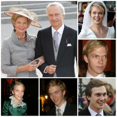 Ready for Royalty:  The Children of Archduke Carl Christian & Archduchess Marie Astrid of Austria (Marie Astrid is the sister of Grand Duke Henri of Luxembourg):  top right clockwise  Archduchess Marie Christine of Austria, Countess of Limburg-Stirum  Archduke Imre  Archduke Christoph  Archduke Alexander  Archduchess Gabriella