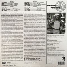 """Lee """"Scratch"""" Perry - Mr Perry I Presume (back cover)"""