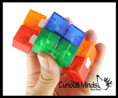 Shape Puzzles, Fidget Toys, Occupational Therapy, Stress And Anxiety, Can Opener, Cube, Ads, Shapes, Learning