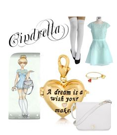 """modern day cinderella"" by jujumiguel on Polyvore featuring Disney, Chicwish, Furla and modern"