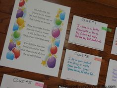 A few weeks ago, I mentioned that I was helping my cousin with her daughter's 10th birthday party. She was planning a Glamour Room for the fun bunch of 10 year old girls followed by a Fashion Show. To build up the excitement, we sent them on this Glamour Scavenger Hunt around the house. When …