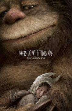 Where The Wild Things Are movie poster w/ MAX