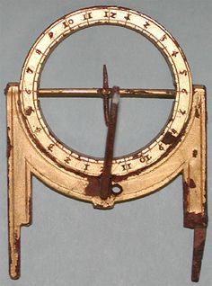 excavated texas pocket sundial