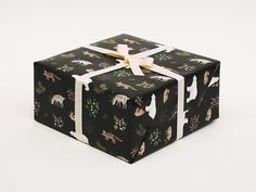 Hey, I found this really awesome Etsy listing at https://www.etsy.com/ca/listing/210350701/winter-animals-christmas-wrapping-paper