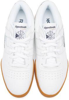 09e18be4afff62 Reebok Classics - White Workout Low Sneakers Reebok Workout Low